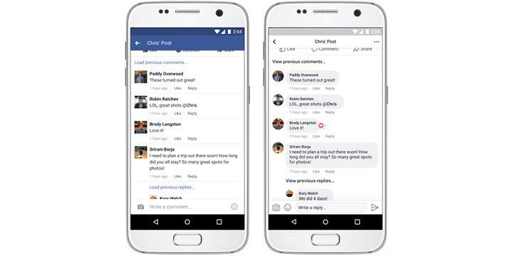 Imagen - Facebook estrena nuevo diseño en la app móvil