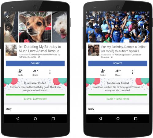 Imagen - Facebook añade nuevas opciones para celebrar los cumpleaños
