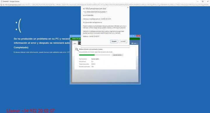"""Imagen - """"Error # DW6VB36"""": cuidado con el servicio técnico del 932 20 02 07"""