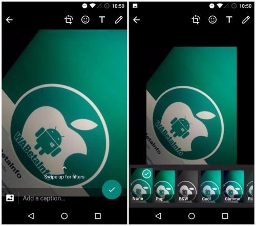 Imagen - WhatsApp 2.17.297 beta cuenta con filtros para fotos
