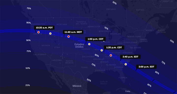 Imagen - Cómo ver el eclipse solar en resolución 4K y 360 grados