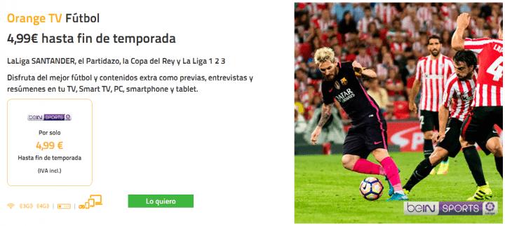 Imagen - Jazztel ofrece el fútbol por 4,99 euros al mes