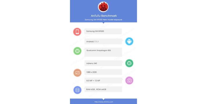 Imagen - Samsung Galaxy Note 8: filtradas sus especificaciones técnicas