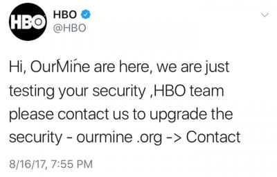 Imagen - Hackean las cuentas sociales de HBO