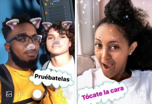 Imagen - Instagram añade máscaras de gatos y purpurina
