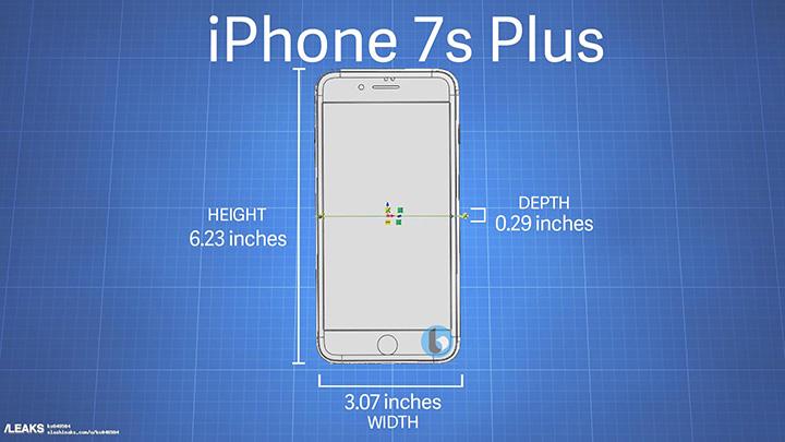 Imagen - Una filtración nos revela las dimensiones de los iPhone 7s y 7s Plus