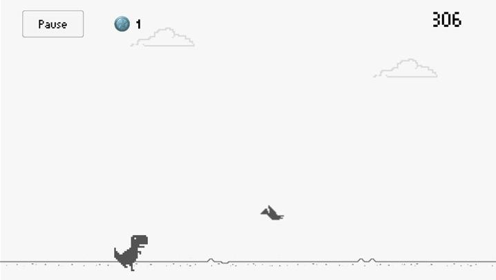 """Imagen - Descarga el juego del dinosaurio de """"Chrome sin conexión"""" en Android"""