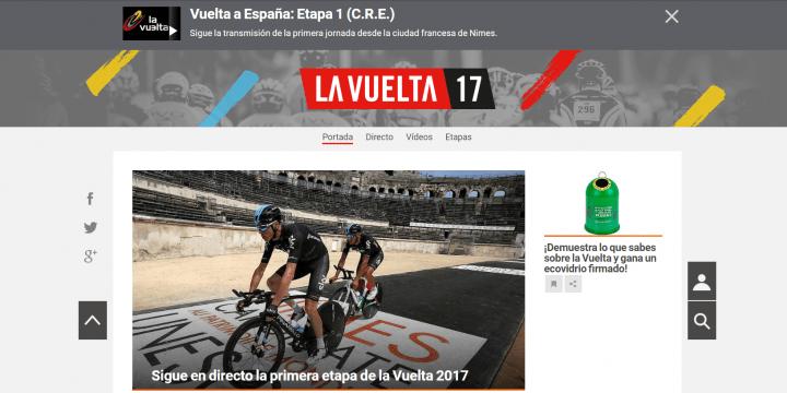 Imagen - Cómo seguir online la Vuelta a España 2017