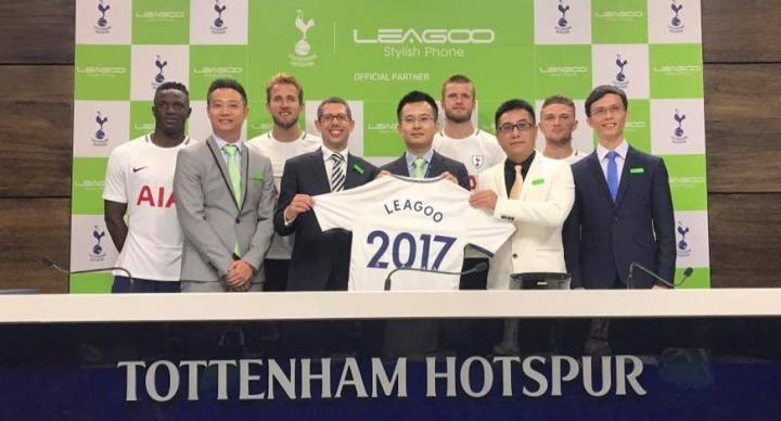 Imagen - Leagoo será patrocinador del Tottenham Hotspur hasta el 2022