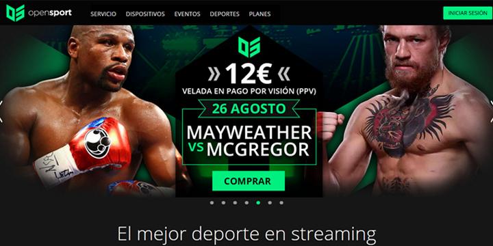 Imagen - Opensport ofrecerá el combate de Mayweather y McGregor