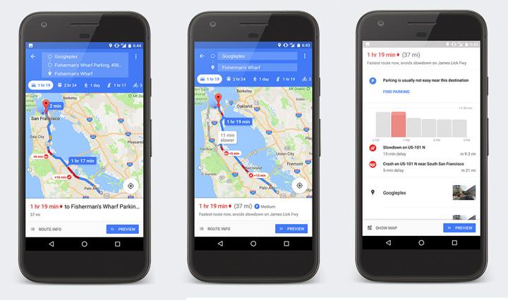 Imagen - Google Maps ya muestra las mejores y peores zonas donde aparcar