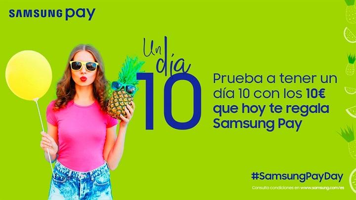 Imagen - Consigue 10 euros gratis al pagar con Samsung Pay el 31 de agosto