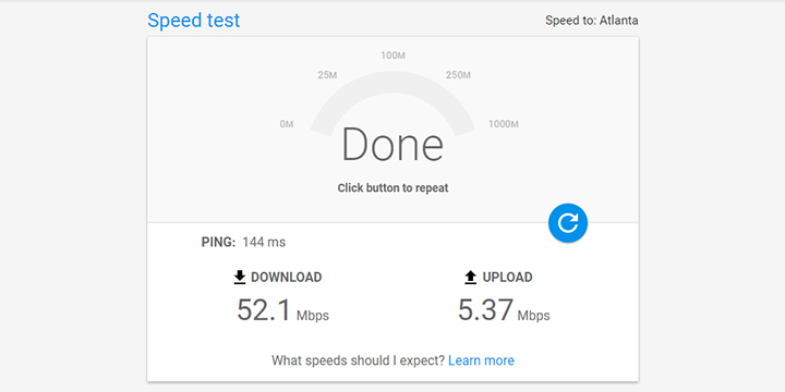 Imagen - Google ya cuenta con test de velocidad