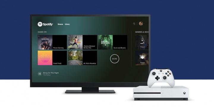 Spotify ya disponible en Xbox One
