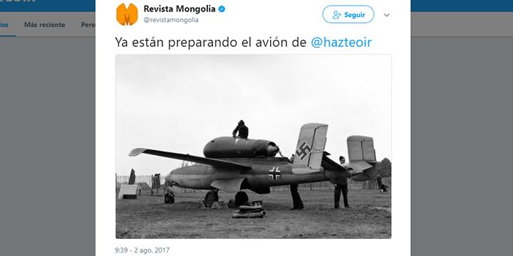 Imagen - Los mejores memes en redes de la avioneta de Hazte Oír
