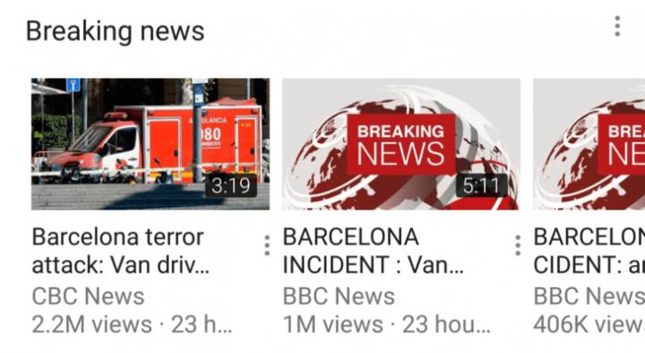 Imagen - YouTube añadirá una sección de Últimas Noticias