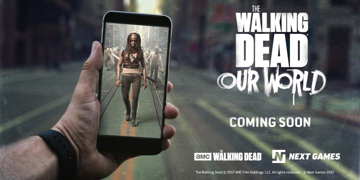 The Walking Dead contará con su propio juego al estilo Pokémon Go para Android y iOS