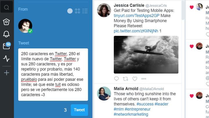 Imagen - Cómo activar en Twitter los nuevos tweets de 280 caracteres