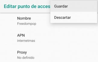 Imagen - Configura el nuevo APN de FreedomPop para 4G