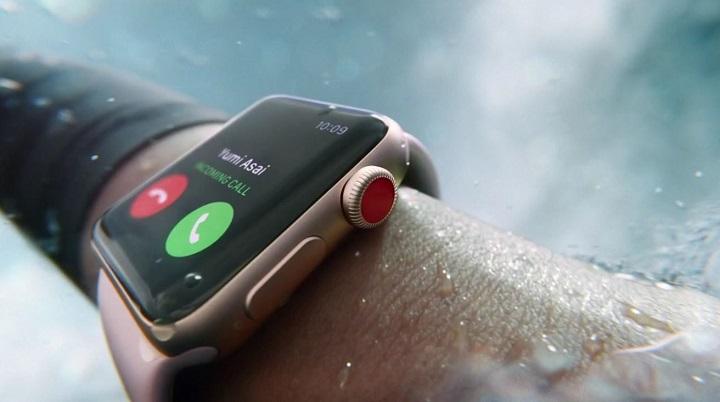 Apple Watch Series 3 añade conectividad 4G