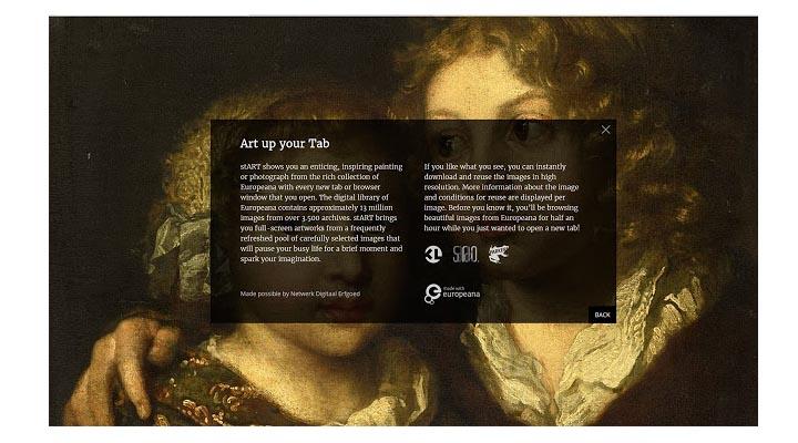 Imagen - Art Up Your Tab, la extensión de Firefox que te permite ver las obras de arte de Europeana