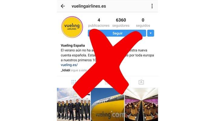 """Cuidado con los vuelos que """"regala"""" Vueling en Instagram"""