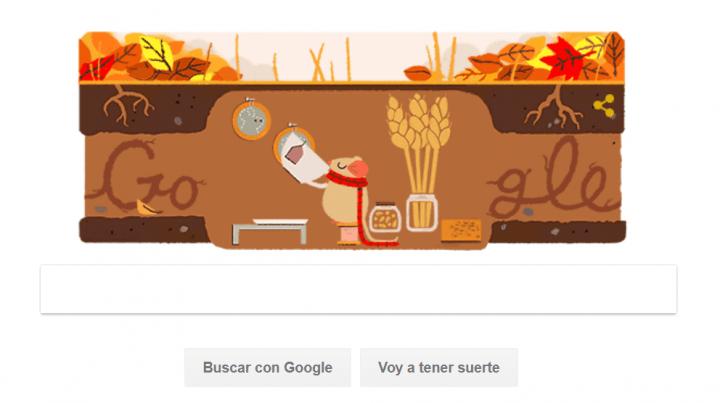 Imagen - Google celebra la llegada del Otoño con un nuevo Doodle