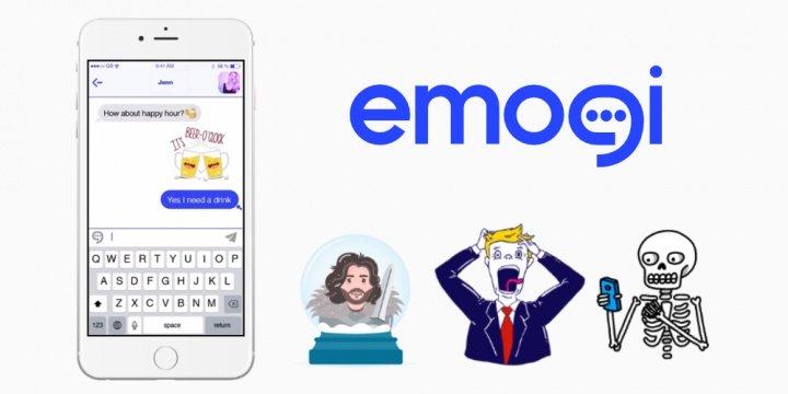 Emogi, los emojis animados para el teclado Gboard de Android