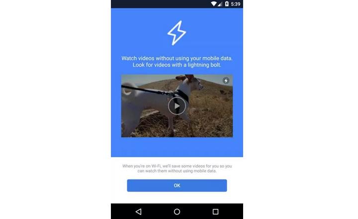 Imagen - Facebook descargará los vídeos previamente en WiFi