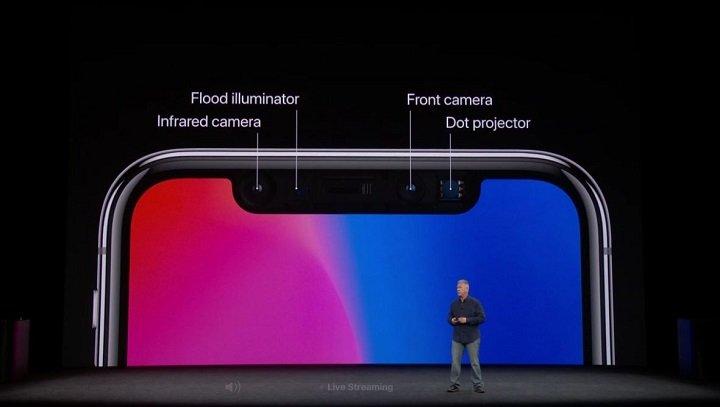 Imagen - iPhone X almacena y comparte detalles de la cara del usuario