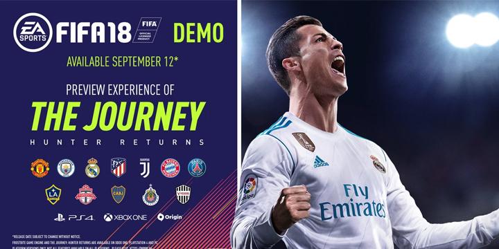 Descarga ya la demo de FIFA 18
