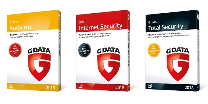 Imagen - G DATA presenta Antivirus 2018, Internet Security 2018 y Total Security 2018