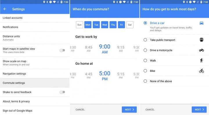 Imagen - Google Maps mejorará los recorridos diarios al trabajo