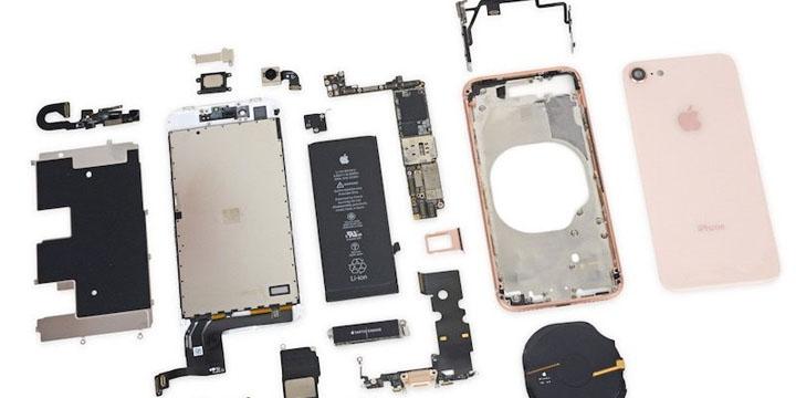 Imagen - Conoce los componentes del interior del iPhone 8