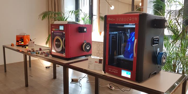 Imagen - XYZprinting presenta en España su gama Da Vinci de impresoras 3D, con una a todo color