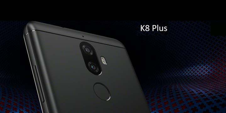 Lenovo K8 Plus, nuevo teléfono con doble cámara