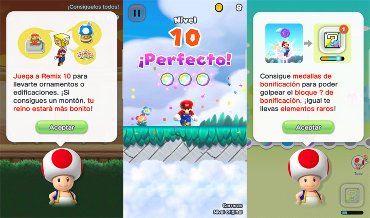 "Imagen - Ya disponible la actualización ""Remix 10"" de Super Mario Run"