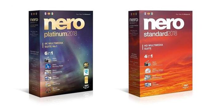 Nero 2018 ya disponible en España: gestiona todo tu contenido multimedia