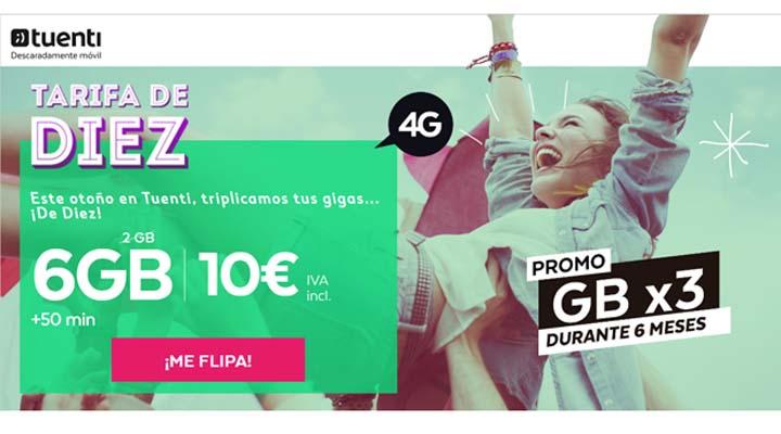 Imagen - Tuenti lanza 6GB por 10 euros