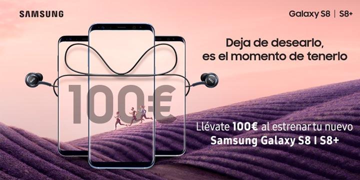 Imagen - Samsung te devolverá 100 euros si te compras un Galaxy S8 o S8 Plus