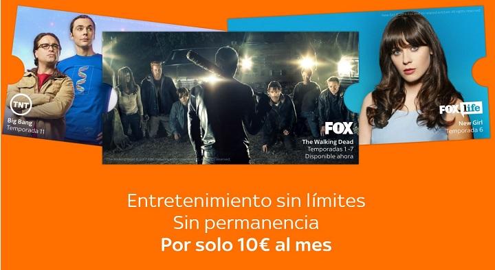 Imagen - Sky TV es oficial en España: el rival de Netflix que añade televisión en directo