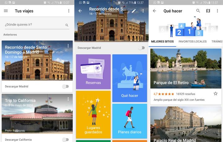 Imagen - Google Trips ya está en español