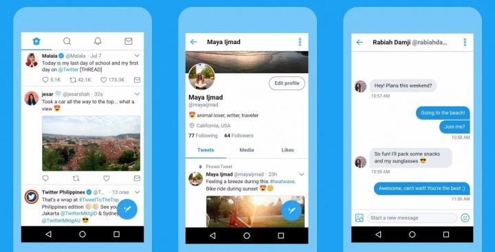 Imagen - Twitter Lite será una versión ligera y con menor consumo de datos de la app