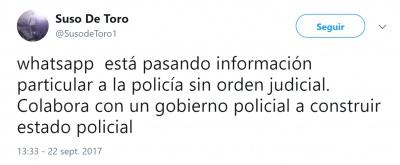 Imagen - Un falso rumor afirma que WhatsApp pasa información a la Policía sin orden judicial
