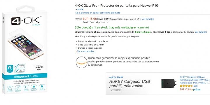 Imagen - 7 protectores de pantalla para el Huawei P10