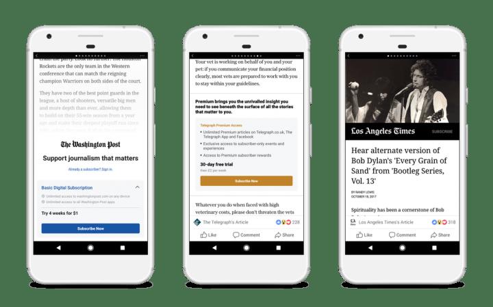 Imagen - Facebook activa el pago por leer artículos y jugar en la red social