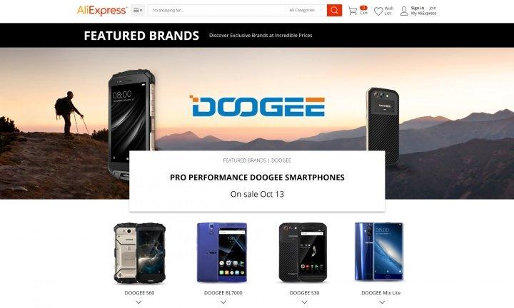 Imagen - Doogee lanza unas rebajas flash en AliExpress