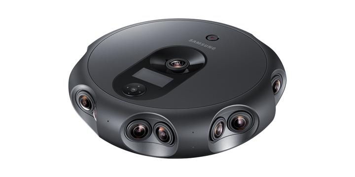 Samsung Round 360, la cámara para emitir contenido 3D envolvente en realidad virtual