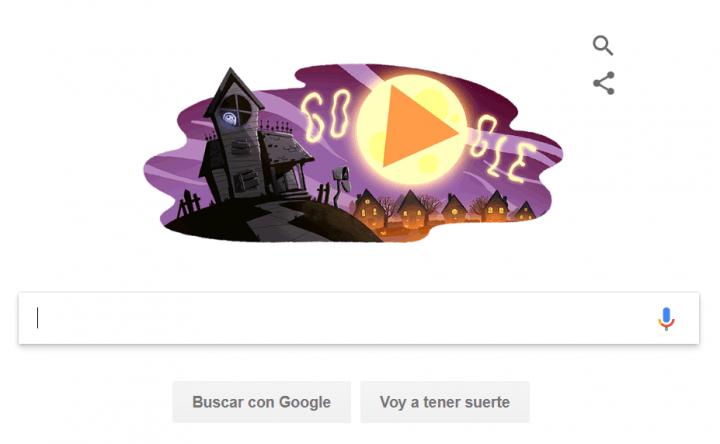 Imagen - Google celebra Halloween con un Doodle en vídeo