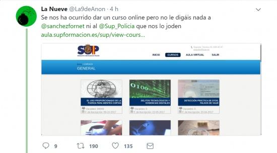 Imagen - Hackeado el Sindicato Unificado de Policía: se filtran datos de más de 17.000 agentes